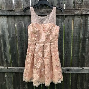 Eva Franco Anthropologie Sequin Party Dress 2P